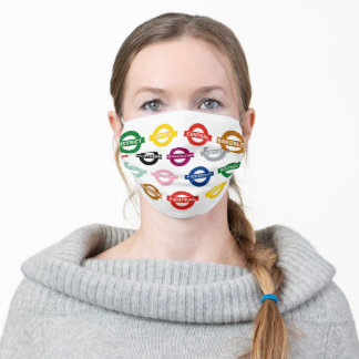 London Metro Signs Adult Cloth Face Mask