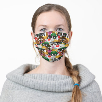LOONEY TUNES™ Emoji Pattern Adult Cloth Face Mask