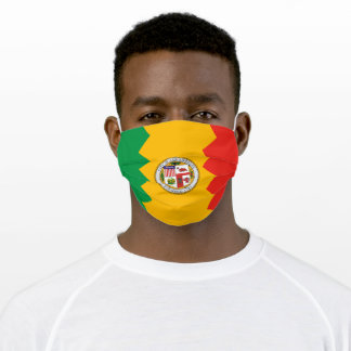 Los Angeles City Flag Cloth Face Mask