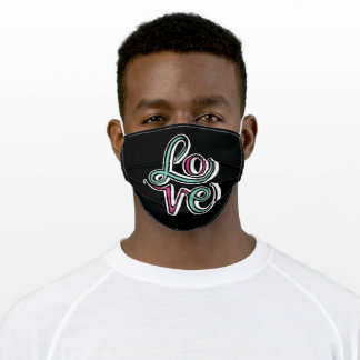 LOVE ADULT CLOTH FACE MASK