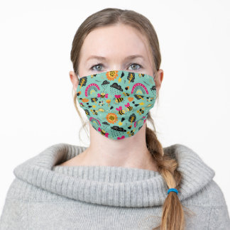 Love bees! adult cloth face mask