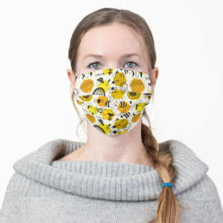 Love bees! face mask