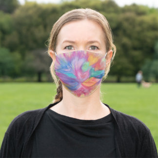 Love Bouquet facemask Adult Cloth Face Mask