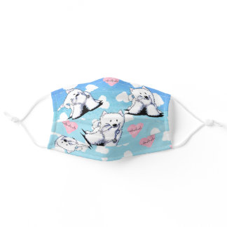 Love Doctor Samoyed Adult Cloth Face Mask