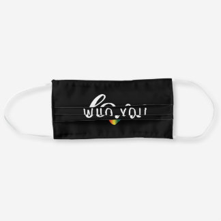 Love Who You Want Gay LGBT Adult Cloth Face Mask