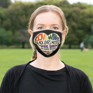 """Love Wins"" Face Mask"
