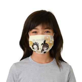 LOVELY AUBREY  PARTY TIME KIDS CLOTH FACE MASK
