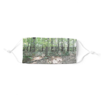 Lovely Day In The Forest Adult Cloth Face Mask