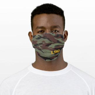 LSU Tiger Eye Cloth Face Mask