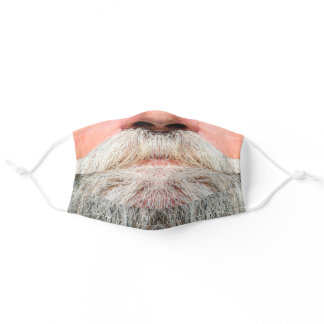 Lucious gray beard mask