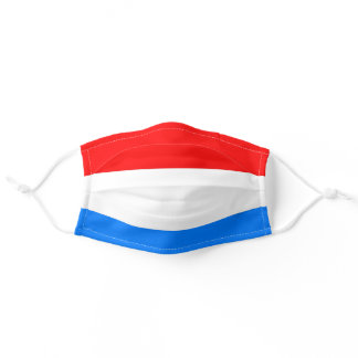 Luxembourg flag adult cloth face mask