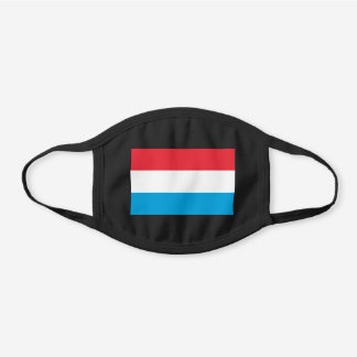 Luxembourg Flag Cotton Face Mask