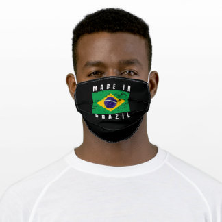 made in brazil adult cloth face mask