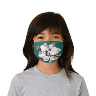 Magnolia Flower Kids' Cloth Face Mask