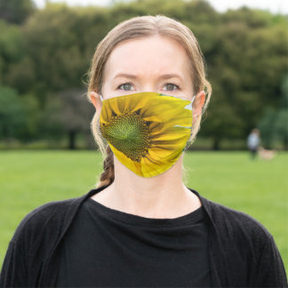 Make Me Strong, Sunflower Adult Cloth Face Mask