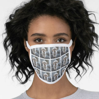 Make Your Own Custom Made 12 Photo Collage Face Mask