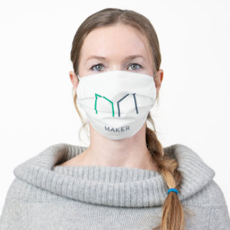 Maker (MKR) Cryptocurrency Icon Adult Cloth Face Mask