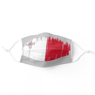 Malta Country Flag Adult Cloth Face Mask