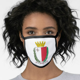 Maltese coat of arms face mask
