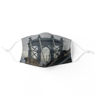 Manhattan Bridge New York City Landmark Adult Cloth Face Mask