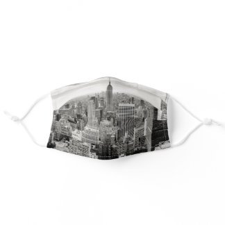 Manhattan, New York Adult Cloth Face Mask