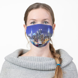 Manhattan Skyline Adult Cloth Face Mask