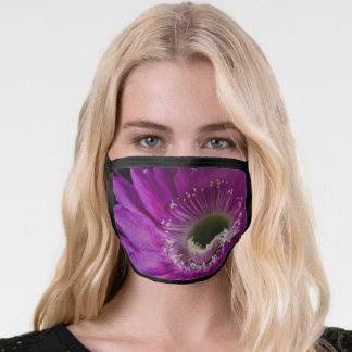 Maria Piazza Cactus flower in Bloom Face Mask