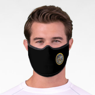 Maryland State Seal Premium Face Mask