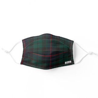 MASCULINE TARTAN PLAID FACE MASK FOR HIM