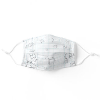 Math and Engineering Calculations Adult Cloth Face Mask