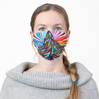 Matterhorn Mountain Art Switzerland Adult Cloth Face Mask