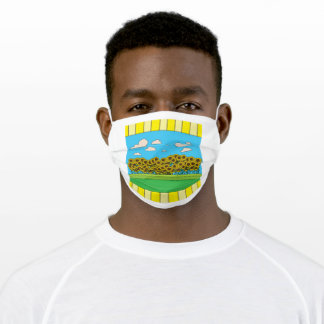Meadow Full Of Sunflowers Adult Cloth Face Mask