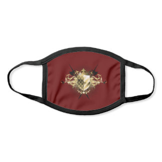 Medieval Shield All-Over Print Face Mask