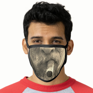 MEN'S FAKE OLD MAN BEARD CIGAR MASK