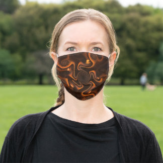 Mexican Chocolate Adult Cloth Face Mask