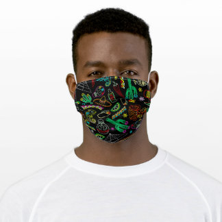 Mexico Fiesta Adult Cloth Face Mask