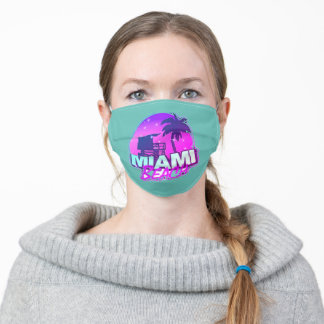 Miami Beah Florida Face Mask