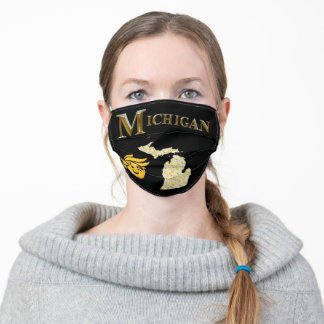 MICHIGAN TRUMP ADULT CLOTH FACE MASK