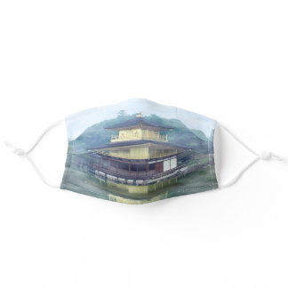 Mist on the Golden Pavilion Adult Cloth Face Mask