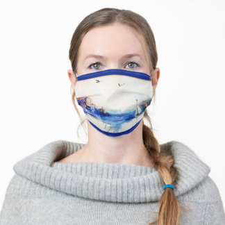 Misty Morning Sail Adult Cloth Face Mask