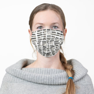 Mixed Signals III Adult Cloth Face Mask