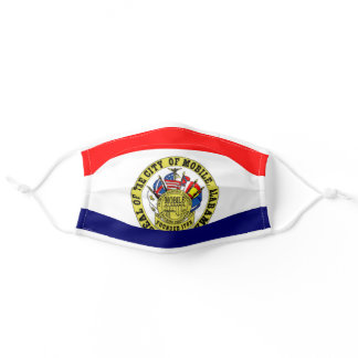 Mobile, Alabama City Flag Cloth Face Mask