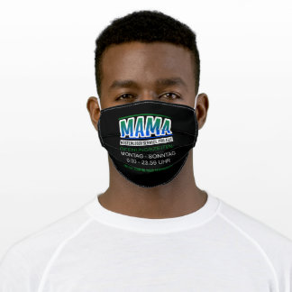 Mom Full-time Service 24/7 Mom For Everything Adult Cloth Face Mask
