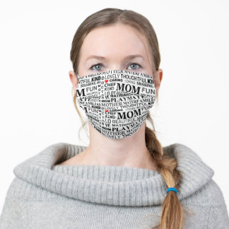 Mom Mother's Day Adult Cloth Face Mask