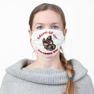 Mom of an AU-SOME kid Face Mask
