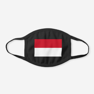 Monaco Flag Cotton Face Mask