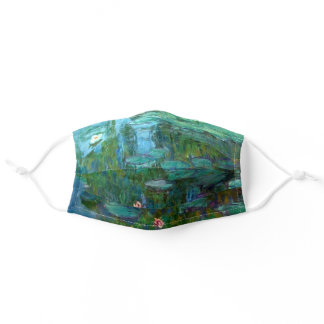 Monet's Water Lilies Adult Cloth Face Mask