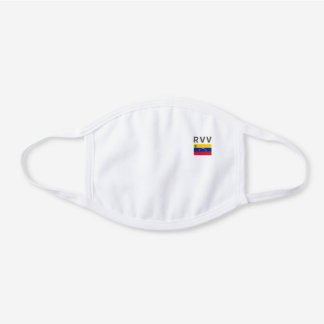 Monogramed Venezuela Decorative Cotton Face Mask