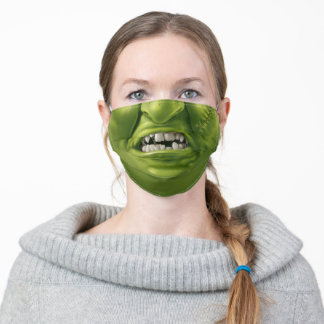 Monster Mouth Fun Horror Halloween Funny Face Adult Cloth Face Mask