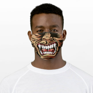 Monster Ware wolf Halloween Face Mask Scary Teeth